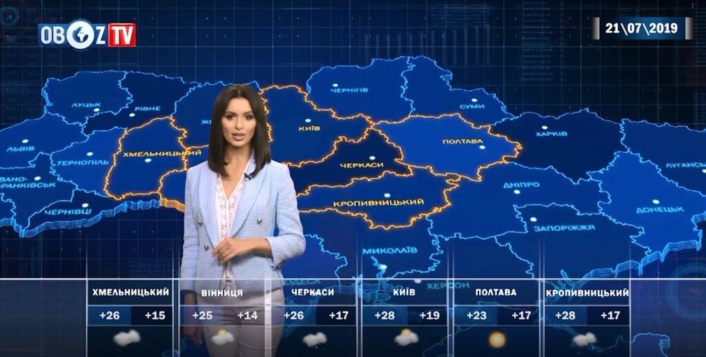 Где на выборы будет жарко: прогноз погоды на 21 июля от ObozTV
