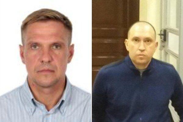Вадим Альперін (праворуч) і Володимир Передерій