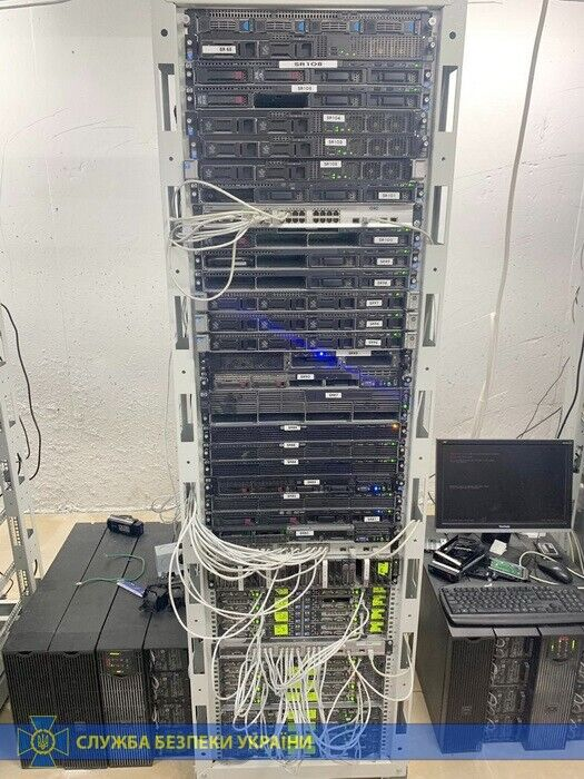 Серверы под землей
