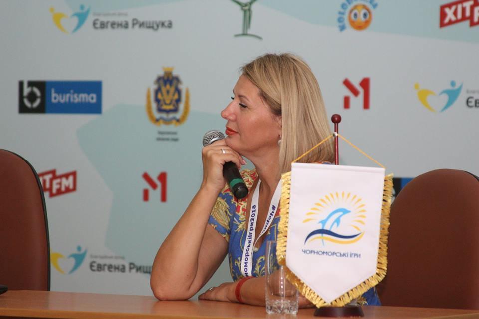 """Не нужно оберегать талант от мира – член жюри """"Черноморских Игр"""" Альона Савинова"""
