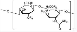 Хімічна формула хондроитин сульфату
