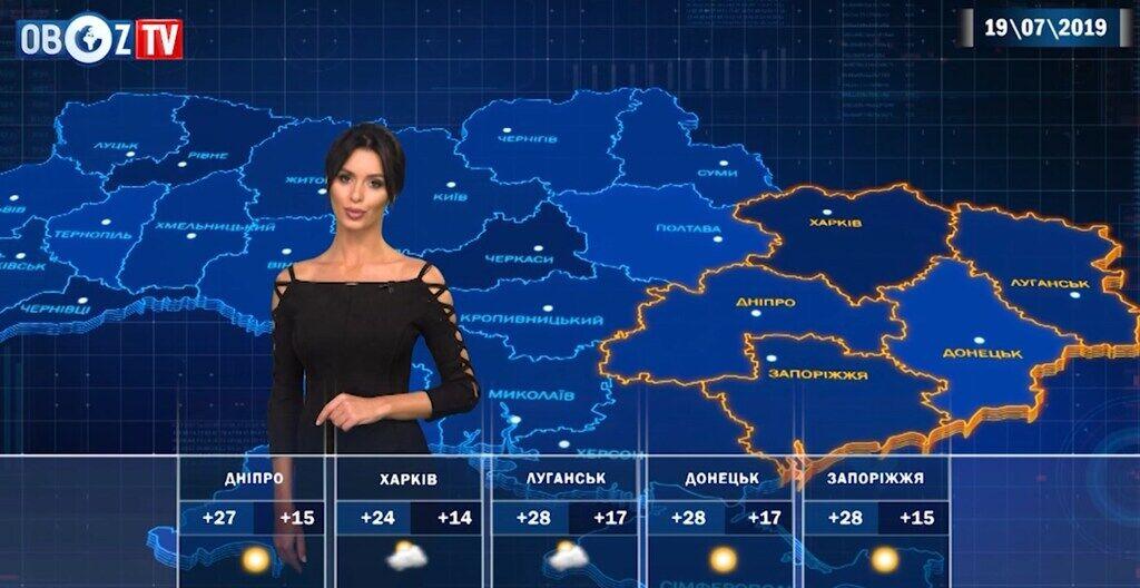 Местами до +30: прогноз погоды в Украине на 19 июля от ObozTV