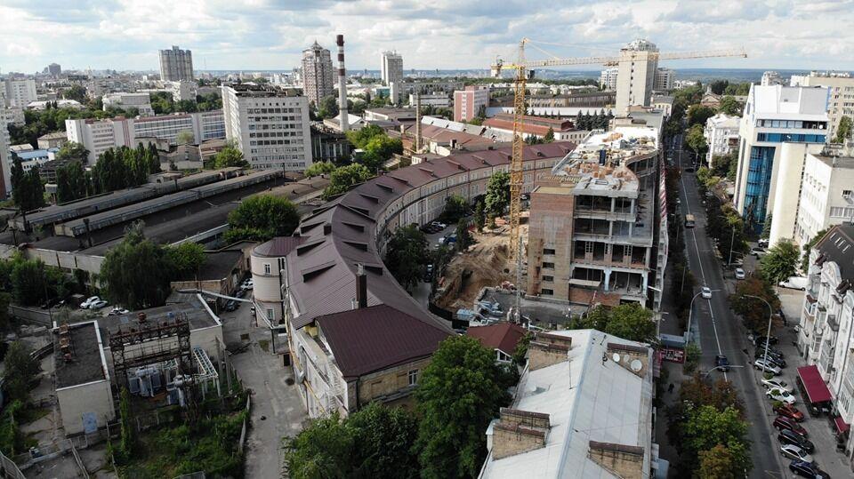Сеть возмущена состоянием 200-летнего здания в Киеве