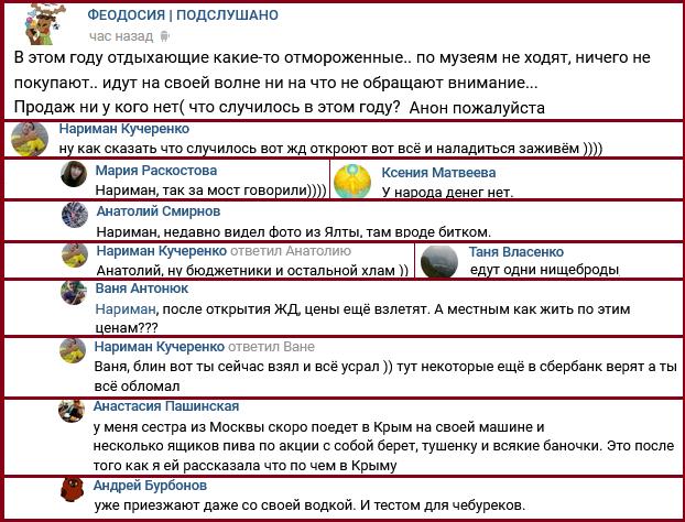 У Криму розсердилися на туристів із Росії