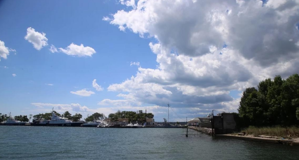 Захваченные Россией украинские катера