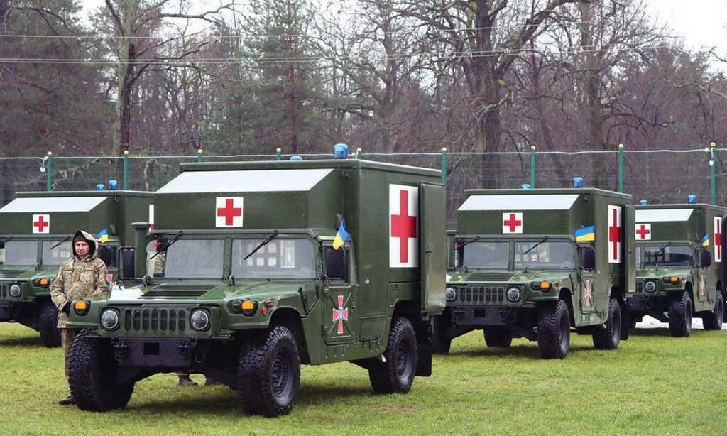 Так на самом деле выглядят украинские санитарные машины Hummer