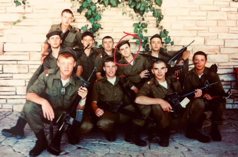 Олександр Куницький в армії