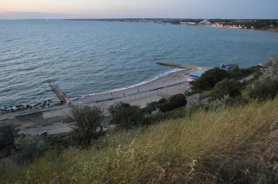"""Пляж """"Толстяк"""" в Севастополе"""