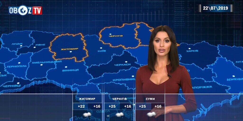 Украину предупредили о внезапных грозах: прогноз погоды на 22 июля от ObozTV