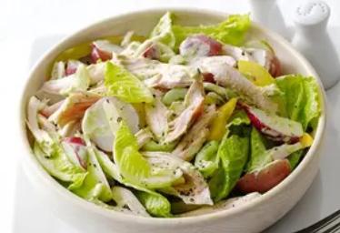 Рецепт диетического салата с кабачком, который точно вас поразит