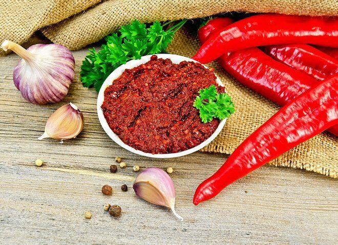 Рецепт настоящей абхазской аджики