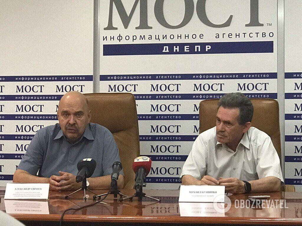 Експерти Олександр Сирота та Михайло Крапивко