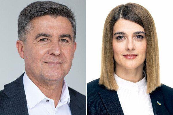 Николай Кучер и Лариса Билозир