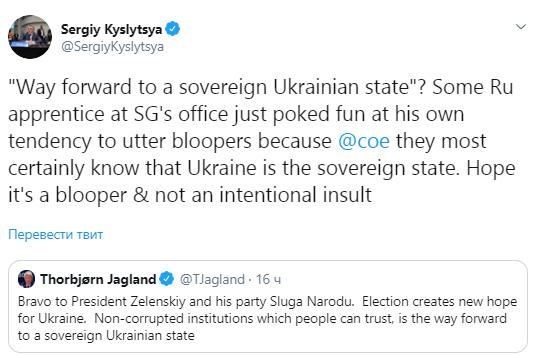 У Раді Європи трапився скандал через Україну