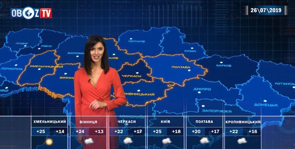 Дожди: погода в Украине на 26 июля от ObozTV