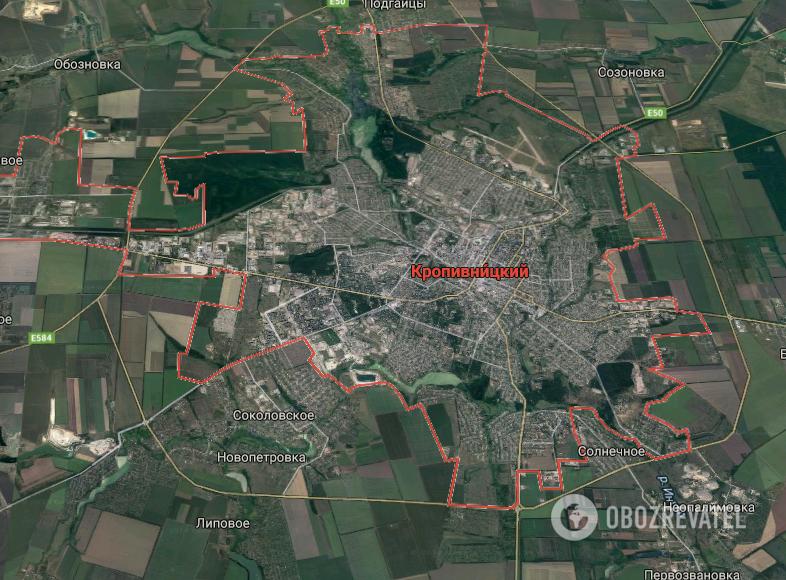 ДТП произошло в Кропивницком