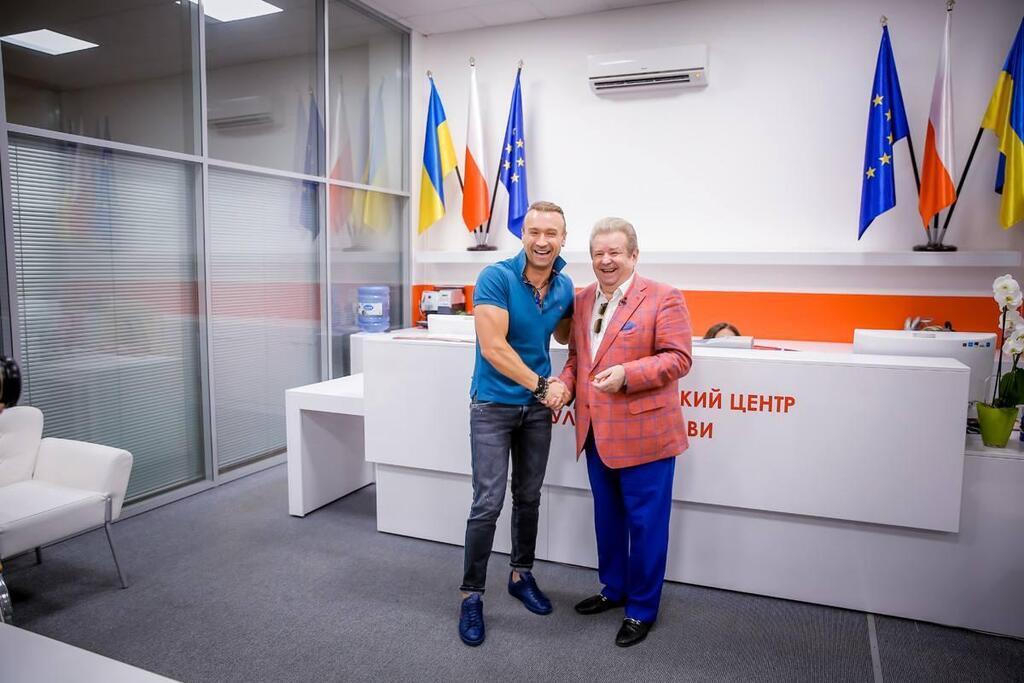 Олег Винник і Михайло Поплавський