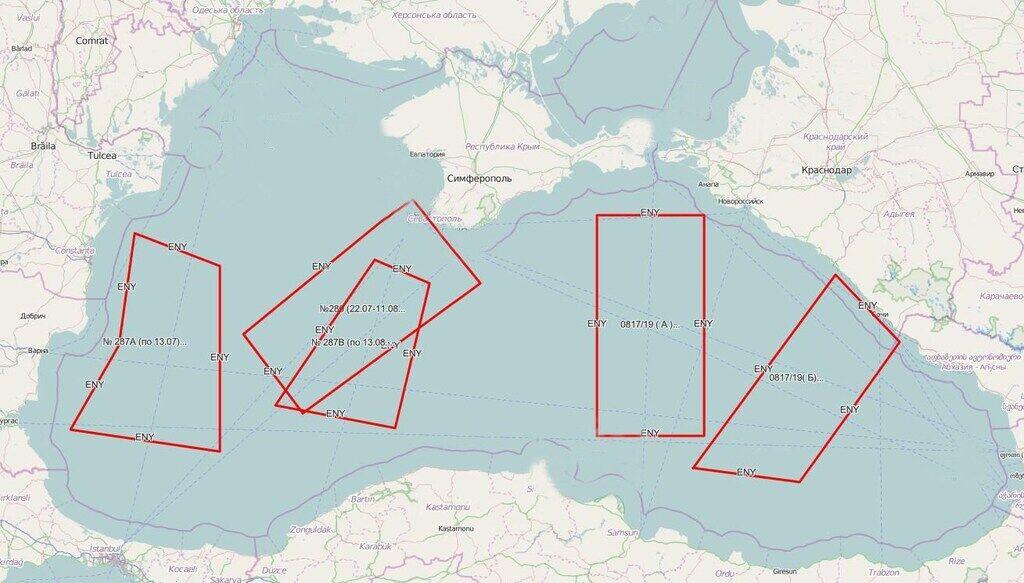 Россия заблокировала четверть Черного моря: подробности