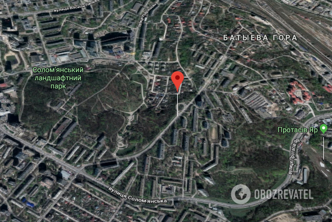 Инцидент произошел на ул. Волгоградская в Соломенском районе