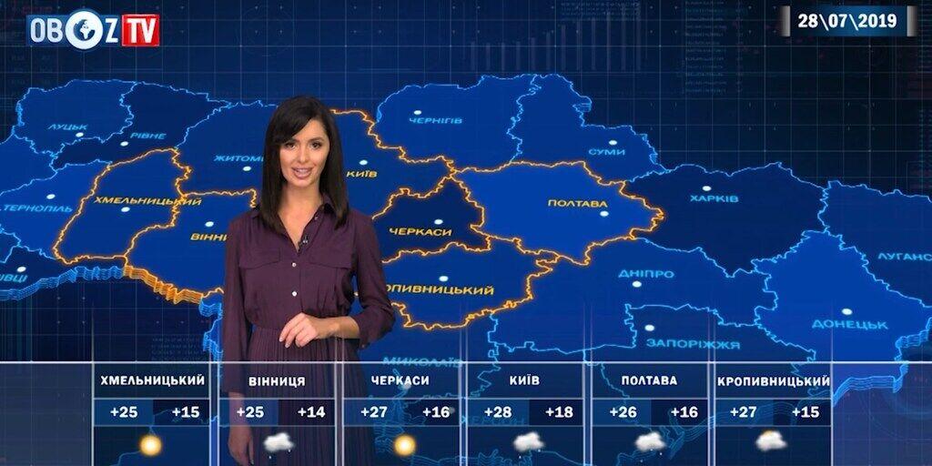 В Украине потеплеет: прогноз погоды на 28 июля от ObozTV
