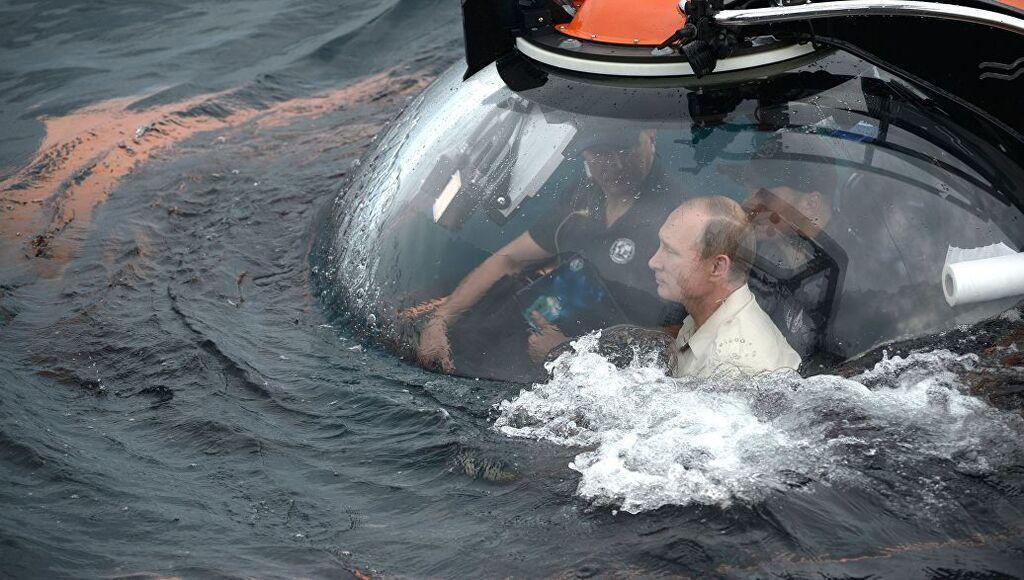 Погружение Путина 27 июля
