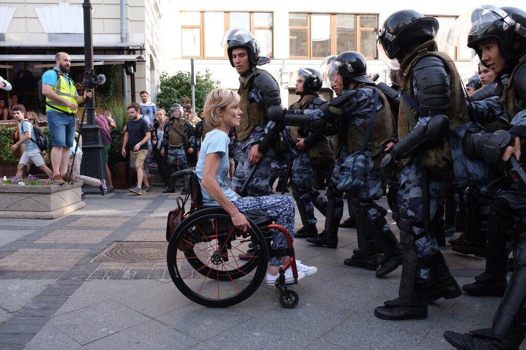 Протест у Москві 27 липня