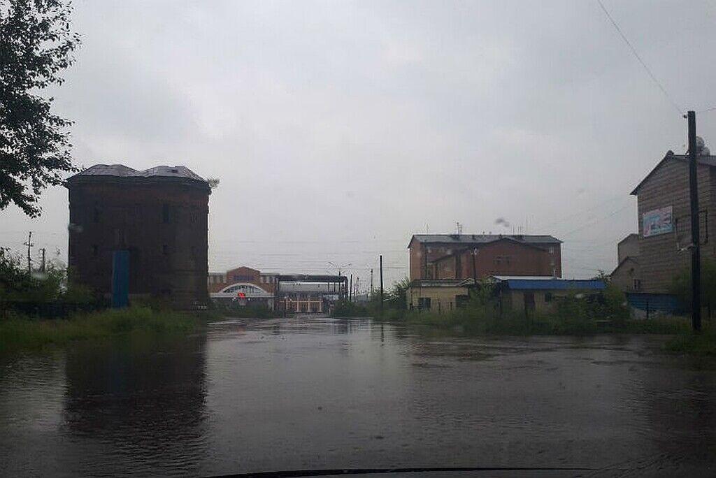 Подтопление в Иркутской области