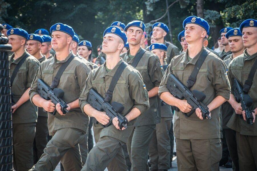 Нацгвардия Украины будет массово патрулировать улицы