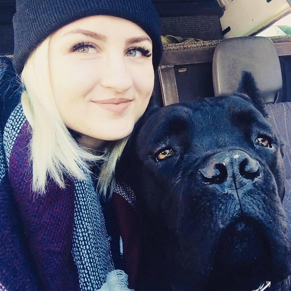 Наталья со своим любимцем