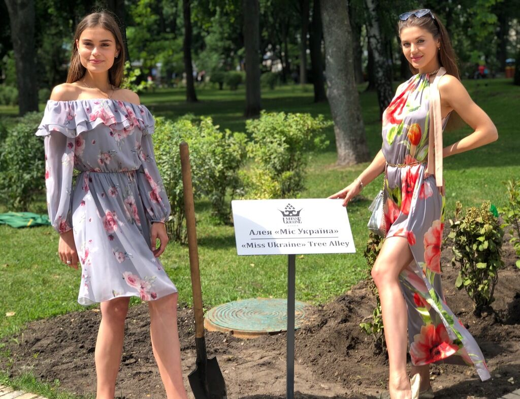 """У конкурсу краси """"Міс Україна"""" з'явилася своя алея"""