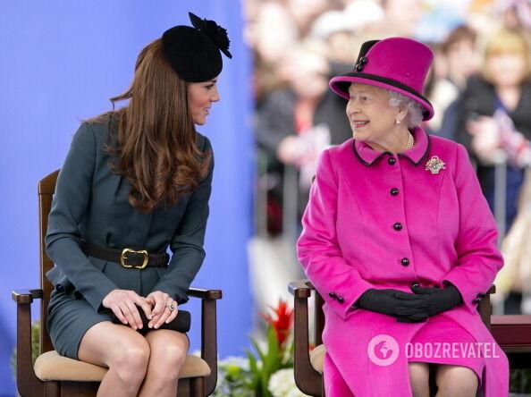 Кейт Міддлтон порушила королівський протокол
