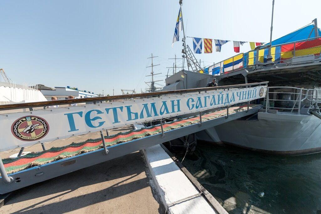 Филатов отметил 26-ю годовщину поднятия флага ВМСУ