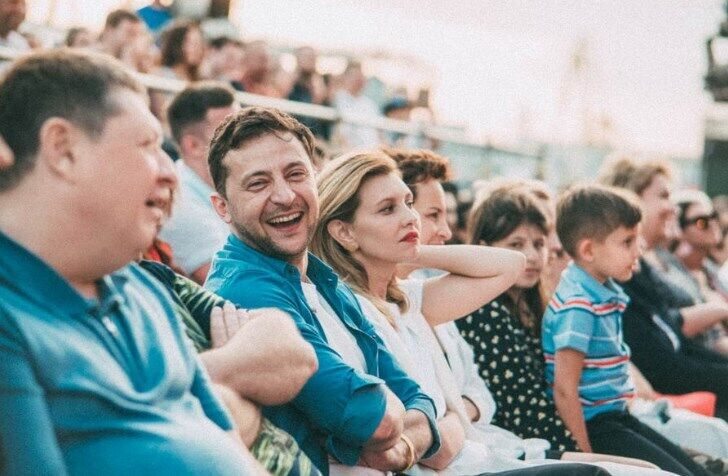 Зеленський і його сім'я