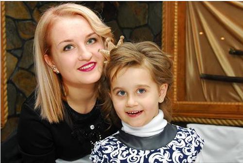 Наталья с дочкой