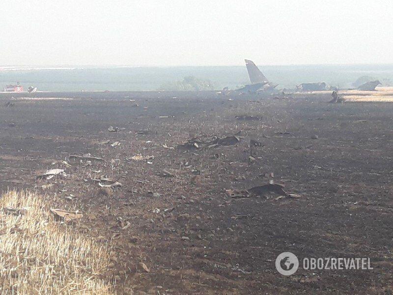 Крушение самолета Л-39