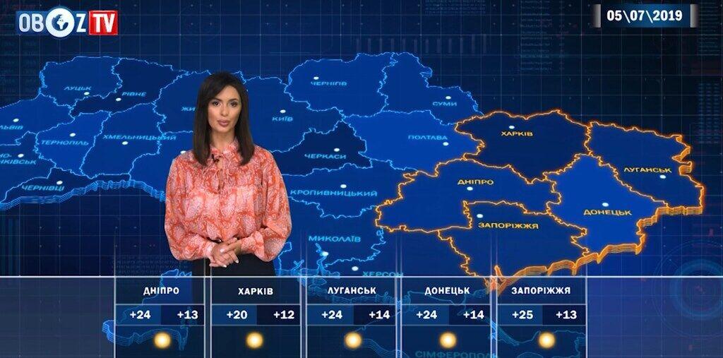 +28 и дожди: прогноз погоды в Украине на 5 июля от ObozTV