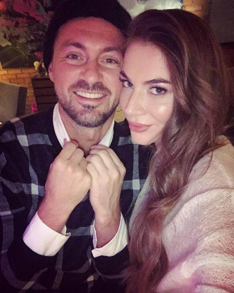 Артем Мілевський із новою подругою Валерією