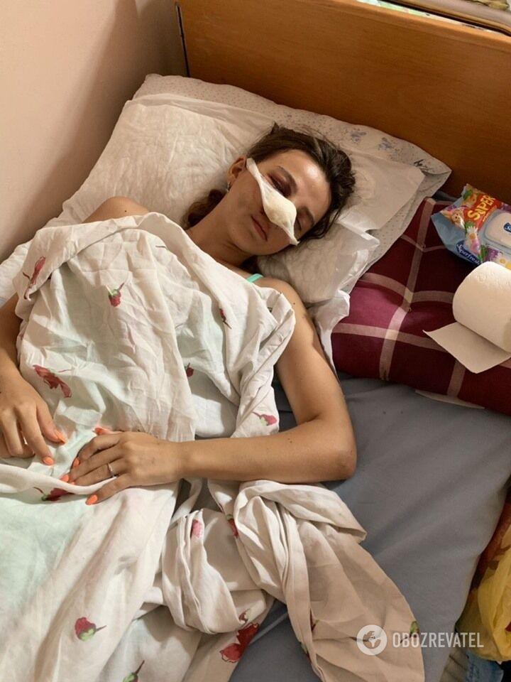 19-річна Тетяна Биткіна. Дівчина нині перебуває у лікарні