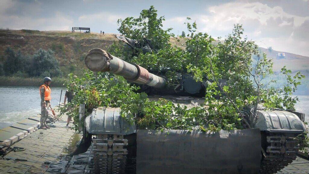 Навчання ЗСУ в зоні ООС на Донбасі