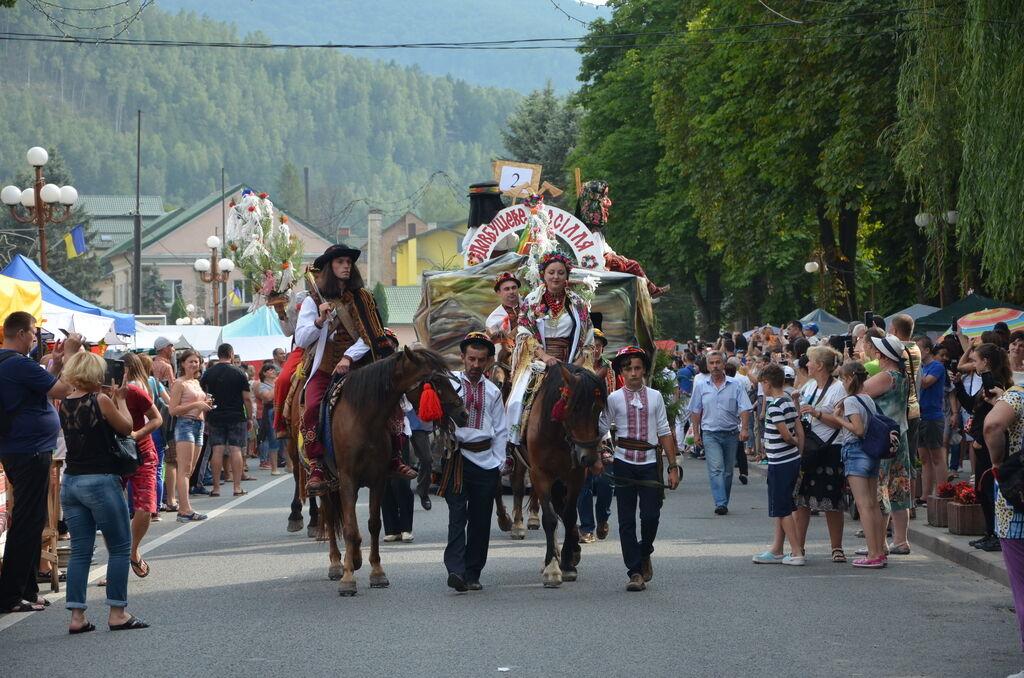 Гуцульский карнавал в Яремче