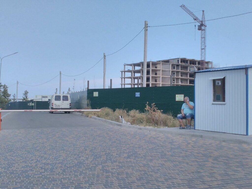 Платный пляж в Крыму