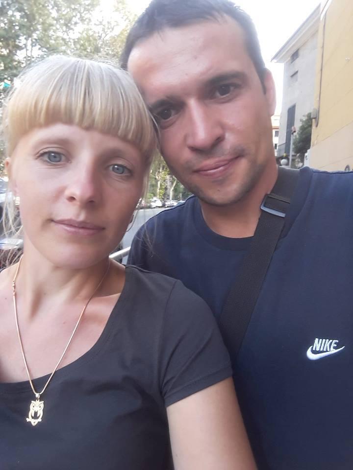 Лидия с мужем Сергеем