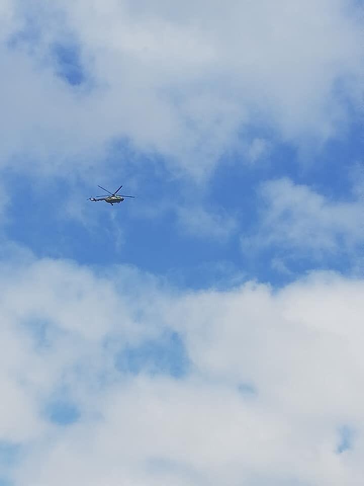 Вертоліт у Вінниці