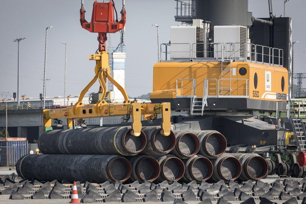 """Строительство газопровода """"Северный поток-2"""""""