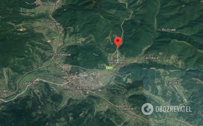 ДТП в Закарпатской области