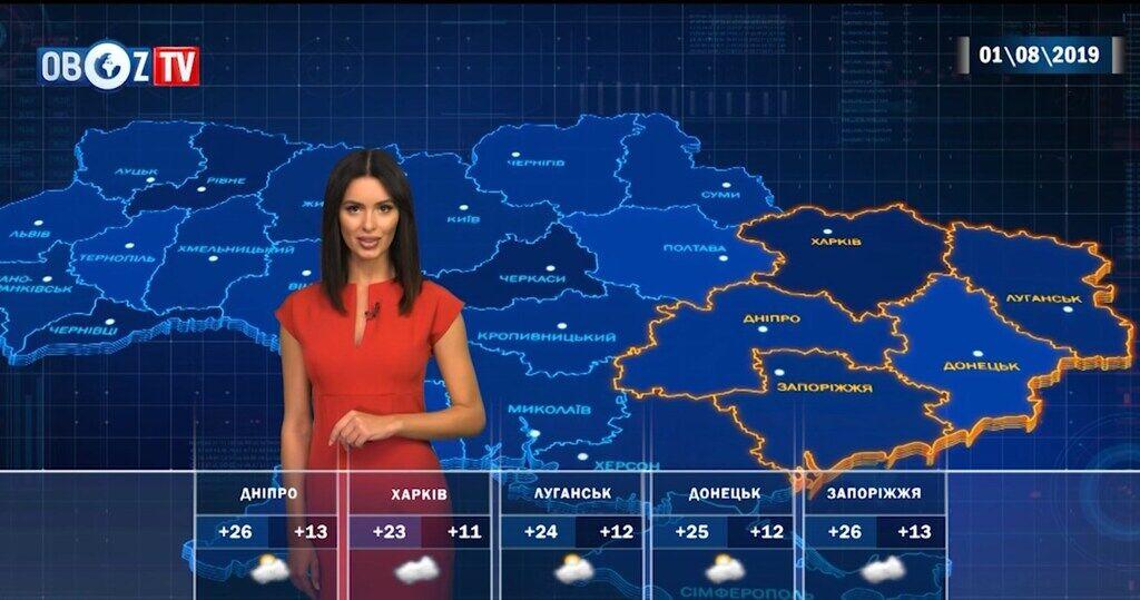 Серпень в Україні розпочнеться з похолодання: прогноз погоди від ObozTV