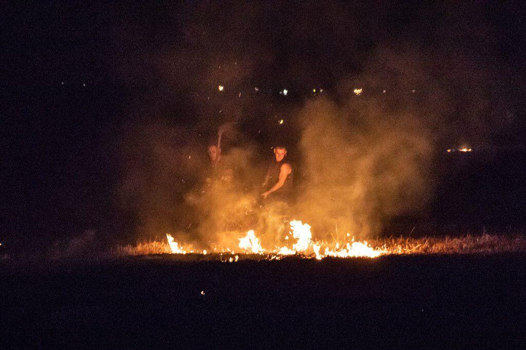 """Масштабный пожар в Днепре: фото и видео огненного """"ада"""""""