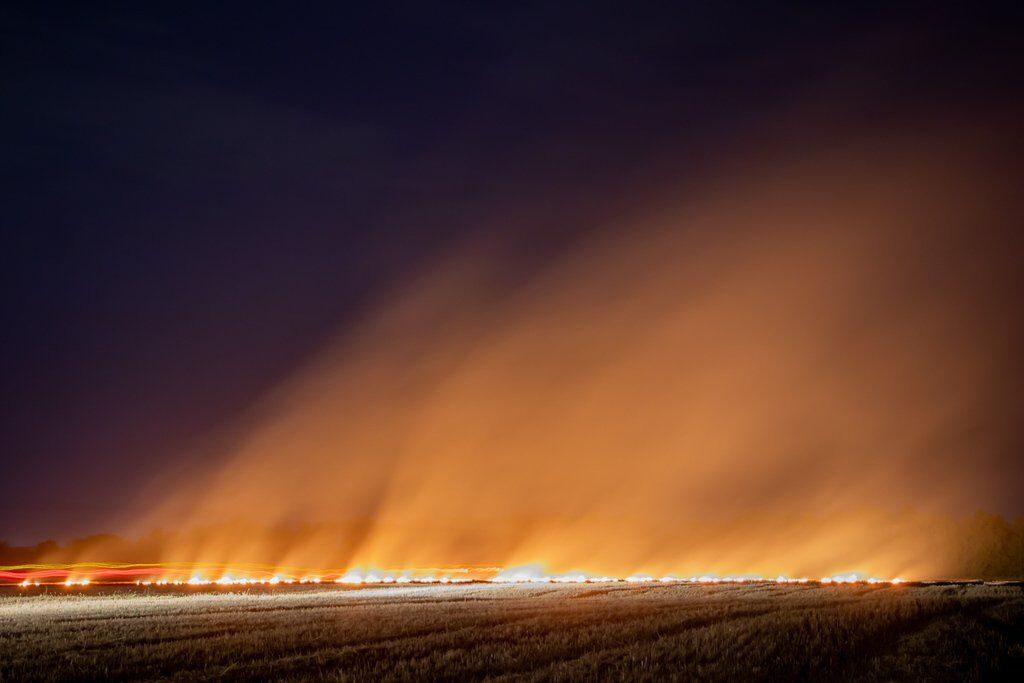 Пожар тушили более 3-х часов