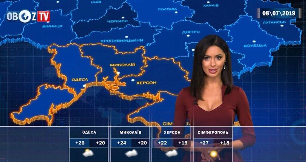 Україну накриють дощі: прогноз погоди на 8 липня від ObozTV