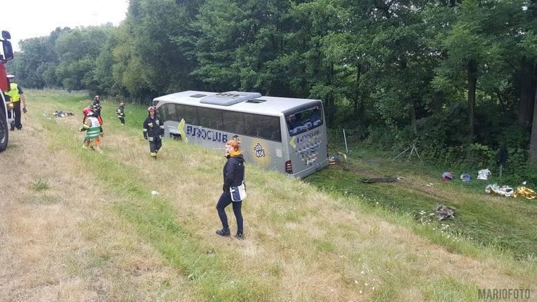 ДТП в Польше с украинским автобусом